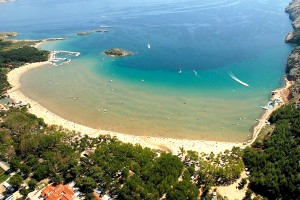 beach-paradicsom-sziget Rab-2-