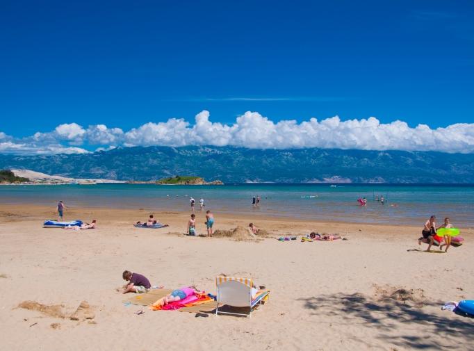 A Lopar-i kemping, Horvátországban, Rab szigeten, a gyermekes családok paradicsoma!