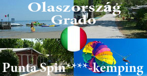 Lakókocsis nyaralás Grado